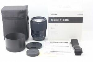 Sigma Art 135mm F1.8 DG HSM Single Focus Telephoto Lens for Canon EF Full Size