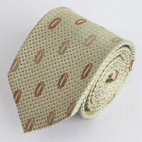 MARK 7 100% Seiden Krawatte Tie Cravate 26