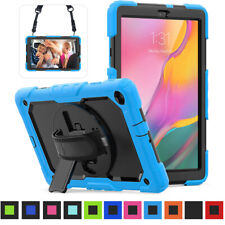 "For Samsung Galaxy Tab A 8.0"" 10.1"" (2019) Rugged Bumper Kickstand Case Cover"