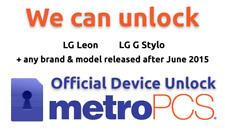Metro PCs device unlock app service