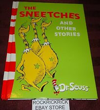 DR. SEUSS BOOK - THE SNEETCHES AND OTHER STORIES (1989) -HARD COVER-