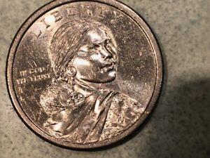 RARE SACAGAWEA  $1 DOLLAR NO DATE COIN US MINT COLLECTIBLE ERROR COIN DOLLAR USA