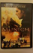 Munich (Dvd, 2006, Widescreen) Steven Spielberg Eric Bana Daniel Craig