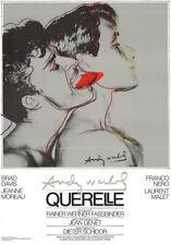 Querelle Gray Andy WARHOL Original Film Poster Print Art 39 x 27