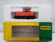 Minitrix N Gauge 2027 Electric 0-4-0 loco Track Tested Runner