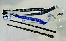 Universal Studios Ollivander ASH and SIRIUS BLACK Interactive Wands + 2 Lanyards