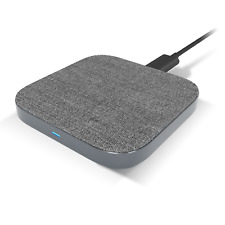 TechMatte Fast Wireless Charging Pad for Qi-Enabled Devices (5FT Cable Included)