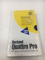 Borland Quatro Pro Spreadsheet Version 5.0 Training Video  For Windows C1