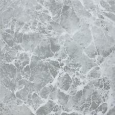 "45-Pack Home Impressions 12"" x 12"" Gray Marble Pattern Vinyl Floor Tile"