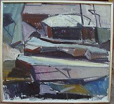 """Allan Erwö *1921,""""Klippen am Strand von Varan"""", um 1960/70"""