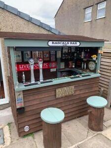 Rascal Bar ( Garden Bar ) Home pub Beer Man Cave