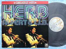 THE HERB ALPERT & TIJUANA BRASS Greatest Hits AMP-4006 JAPAN LP 055az34