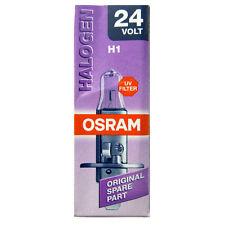 2 piezas OSRAM H1 24v 70w 64155 Camión bombilla lámpara Alógena NUEVO o