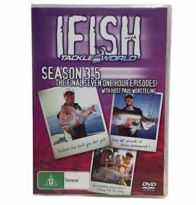IFish Season 3.5 DVD G All Region - Widescreen 2 Disc Set - Paul Worsteling