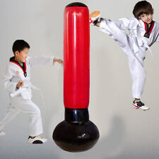 New Inflatable Punching Bag Tower Fitness 165CM Tall  Exercise With Foot Pump
