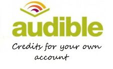 3 audible uk credits