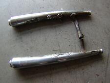 Yamaha XS 650  Auspuff exhaust pipe
