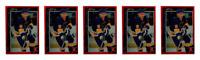 (5) 1992 Legends #31 Brett Hull Hockey Card Lot St. Louis Blues