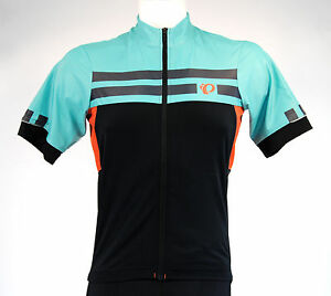 Pearl Izumi 2016 P.R.O. Escape Cycling Jersey, Orange Mint, Small
