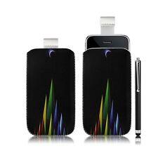 coque étui pochette pour Apple iPhone 3G/3GS avec motif LM02 + stylet luxe