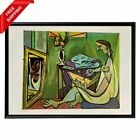 Pablo Picasso -  The Muse, Original Hand Signed Print with COA