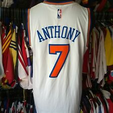 New York Knicks 2015 NBA Basketball Vest #7 Anthony Adidas Jersey Taille Adulte M