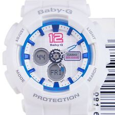 CASIO BABY-G LADIES WATCH BA-120-7B FREE EXPRESS WHITE x BLUE BA-120-7BDR