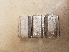 19 LBS OF LINOTYPE HARD LEAD LYMAN INGOTS FOR BULLET CASTINGS