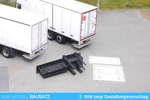 1:87 EM156 Bausatz 2x gefaltete Ladebordwand für LKW und Auflieger