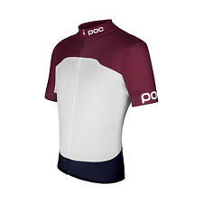 POC Raceday Climber Jersey - Granate Red/Hydrogen White - M
