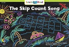 NEW - The Skip Count Song Learn to Read, Math by Rozanne Lanczak Williams