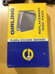 NOS SUNBEAM TIGER ALPINE 63-70 GDB525 Original quality Girling brake pads new