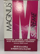 Omnilife Magnus Energy Drink 0 calories Vitamin & Amino Acid minerals protein
