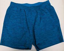 Lululemon Men's Blue Workout Running Shorts Lined Size XL Extra Large