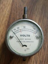 New listing Hoyt Hand Calibrated Volts Meter