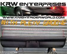 1982 PONTIAC FIREBIRD KNIGHT RIDER KITT KARR K2000 REAR BUMPER WITH PLEXI GROOVE