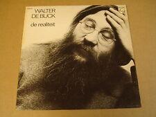 KLEINKUNST LP / WALTER DE BUCK - DE REALITEIT