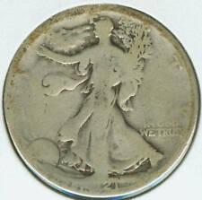 1921 D Walking Liberty Half Dollar (Walker) - Good