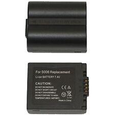 2 baterías para Panasonic s006 dmc-fz8 fz18 fz28 fz50 nuevo