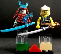 GENERAL VEX    & SENSEI WU YOUNG  NINJAGO SONS GARMADON  MINIFIGURA TOP MOVIE