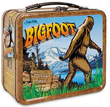 Bigfoot Lunch Box Sasquatch Yeti 'Squatch School Container Archie McPhee Vintage