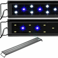"Aquaneat Led Aquarium Light with Night Mode Freshwater 30""- 38"" Blue & White"
