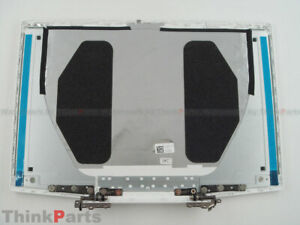 """New/Orig DELL G3 15 3590 3500 15.6"""" Rear Lcd back cover 03HKFN White w/ Hinges"""