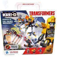 Hasbro KRE-O Transformers Cell Block Breakout Optimus Prime Bumblebee