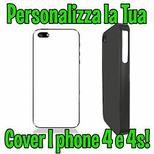 Personalizza la Tua Cover Custodia Iphone 4 e 4S Personalizzata Foto