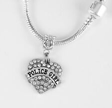 chain Police Girl Present Cop Gift Police Girl Necklace Police Gift Police Girl