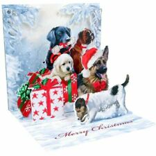 Pop-Up Christmas Card Trearures by Upwithpaper - Christmas Dogs