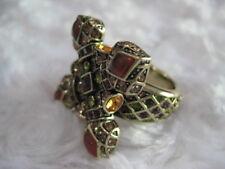 """HEIDI DAUS """"Vintage Romance"""" (Size 8) Maltese Cross-Look Ring (Orig.$89.95)"""