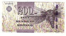 Isole Faeroe Island 200 corone  2011  FDS  UNC   pick 31 lotto 2567