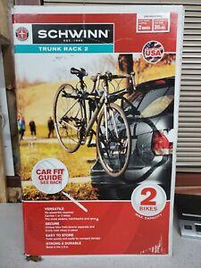 Schwinn Trunk Rack 2, 2 Bike Trunk Rack